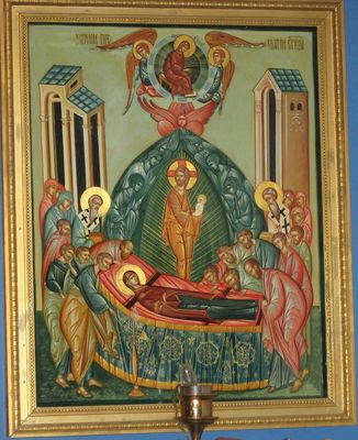 Icon of the Dormition