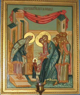 Entrance of the Theotokos in the Temple