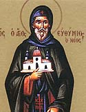 Venerable Euthymius the New of Thessalonica, and Monk of Mt Athos