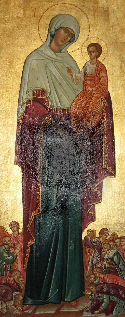 Icon of the Mother of God joy of all the  Sorrowful