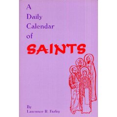 A Daily Calendar of Saints