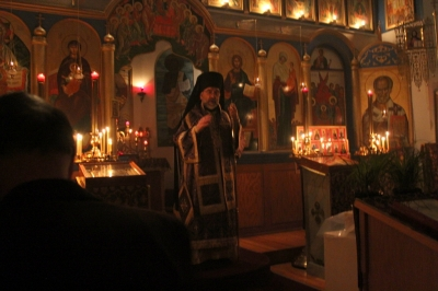 Liturgy of the Presanctified Gifts with His Grace Bishop Michael_1