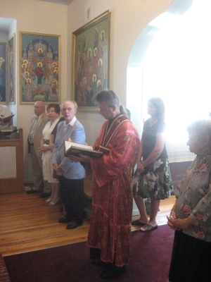 Visit by Bishop Michael - Saturday, July 17, 2010.