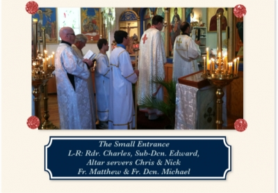 Service with visiting Deacon Michael_1